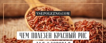 Чем полезен красный рис для здоровья