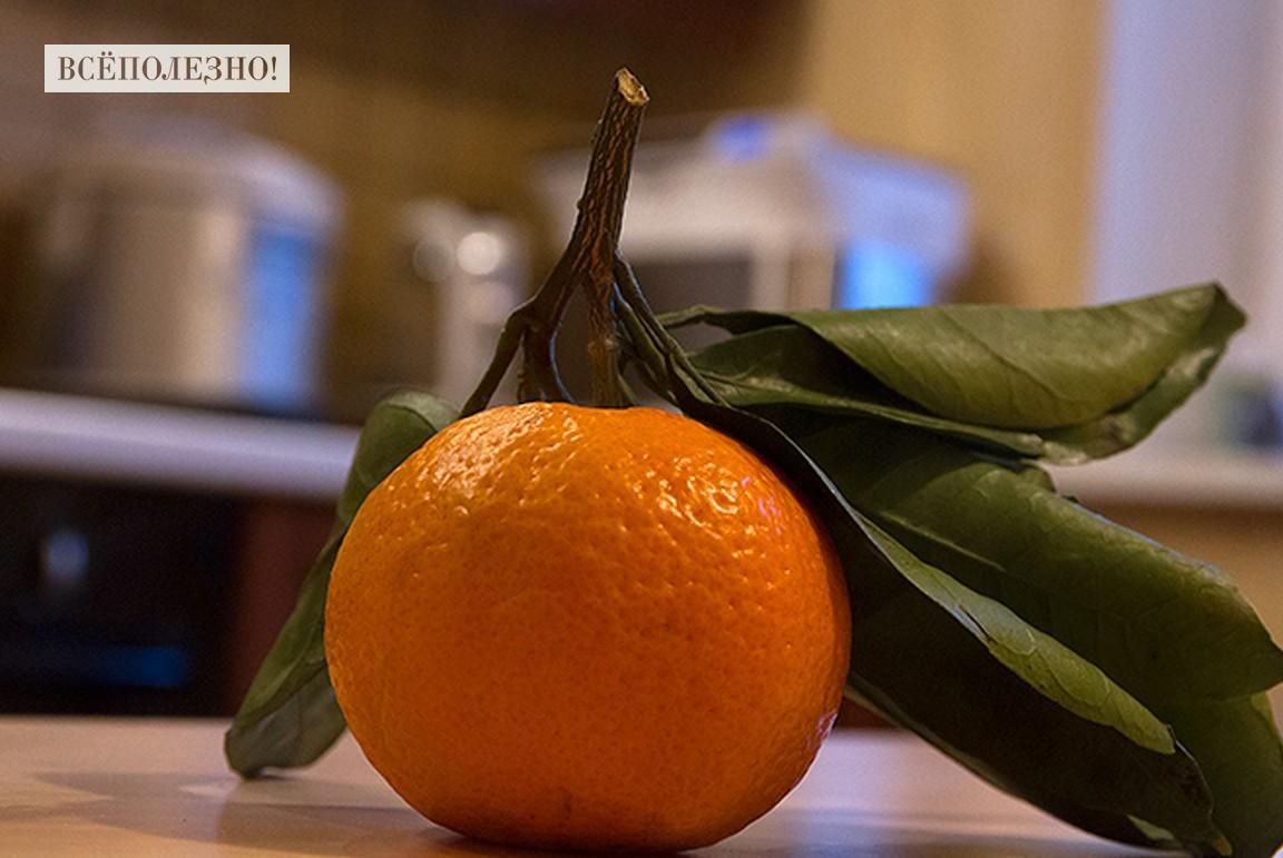 Вредны ли китайские мандарины с листочками?