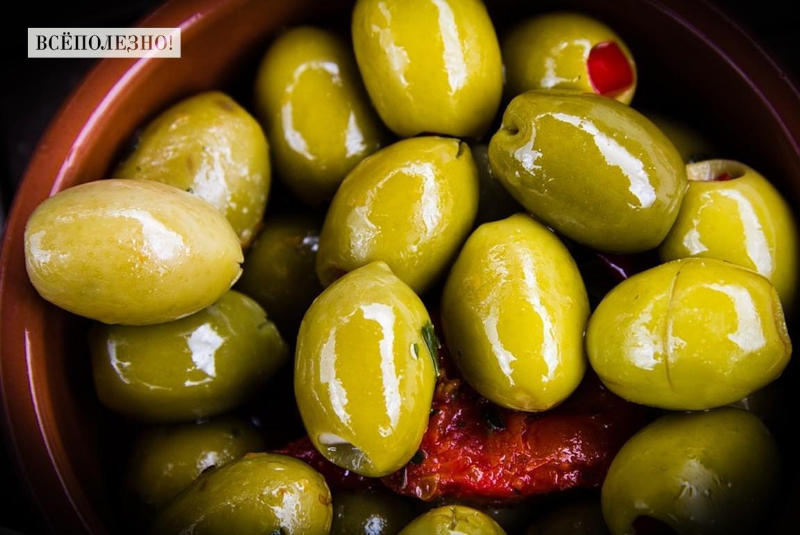 Химические составляющие оливки