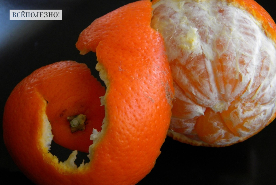 Чем полезны корки мандарина для человека?