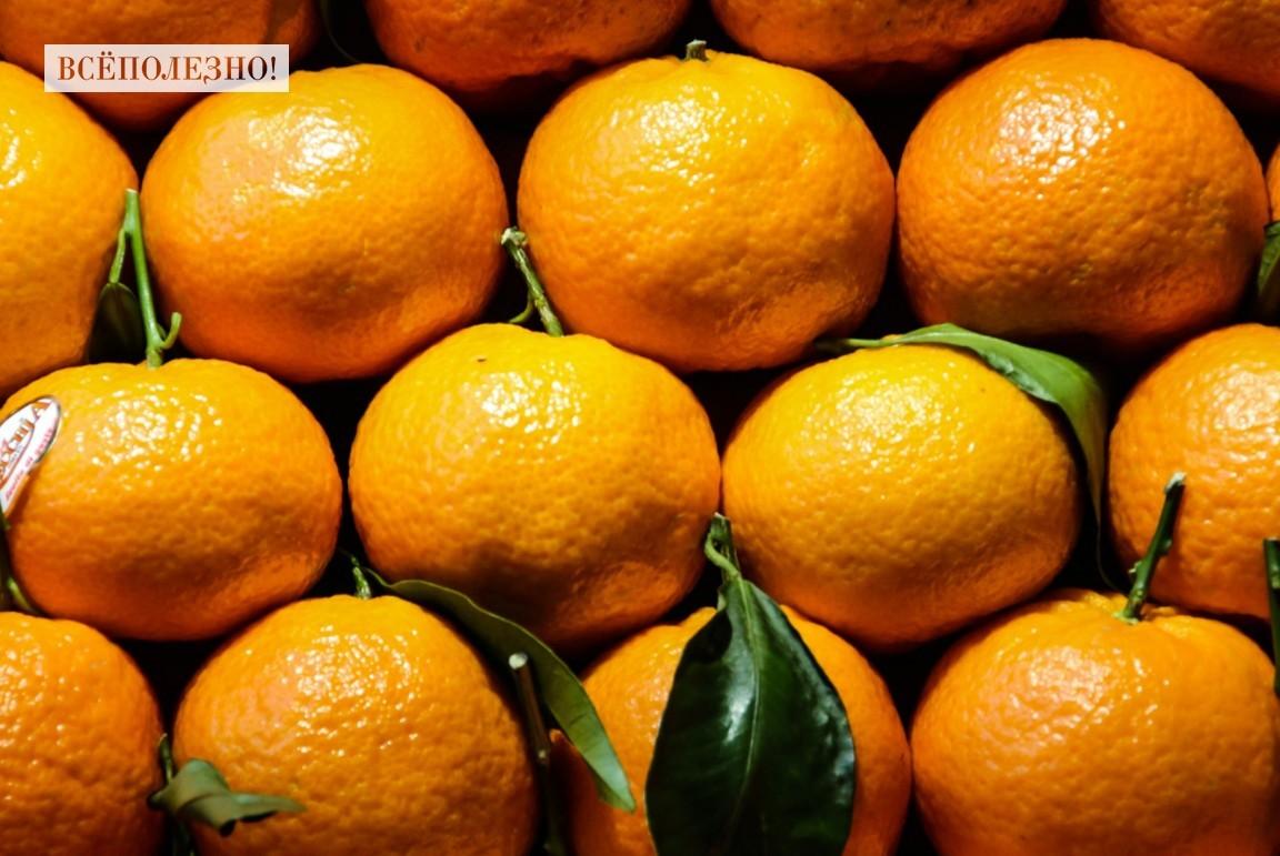 Какие витамины содержатся в мандарине?