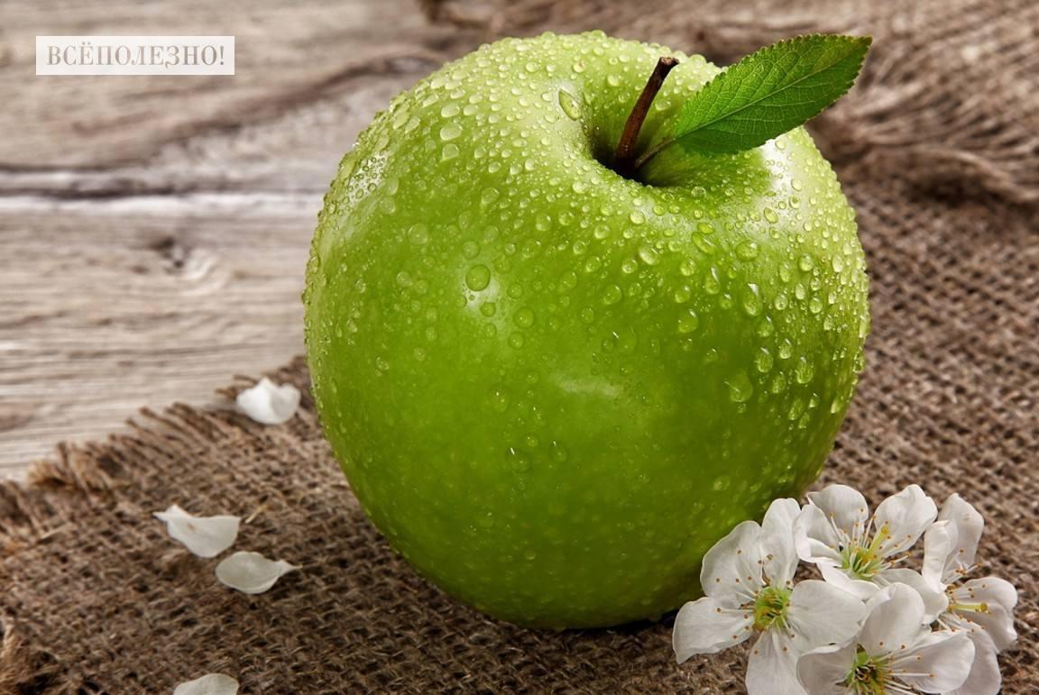 Чем полезны зеленые яблоки для здоровья человека?