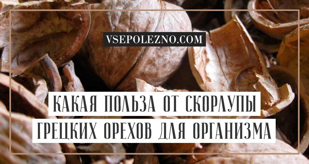 Куда использовать скорлупу грецкого ореха