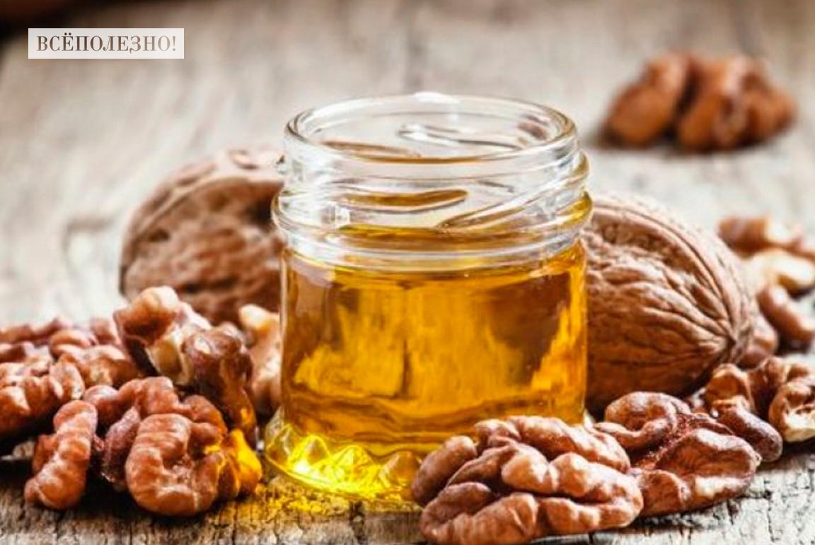 Чем полезно масло грецкого ореха и как его применять?