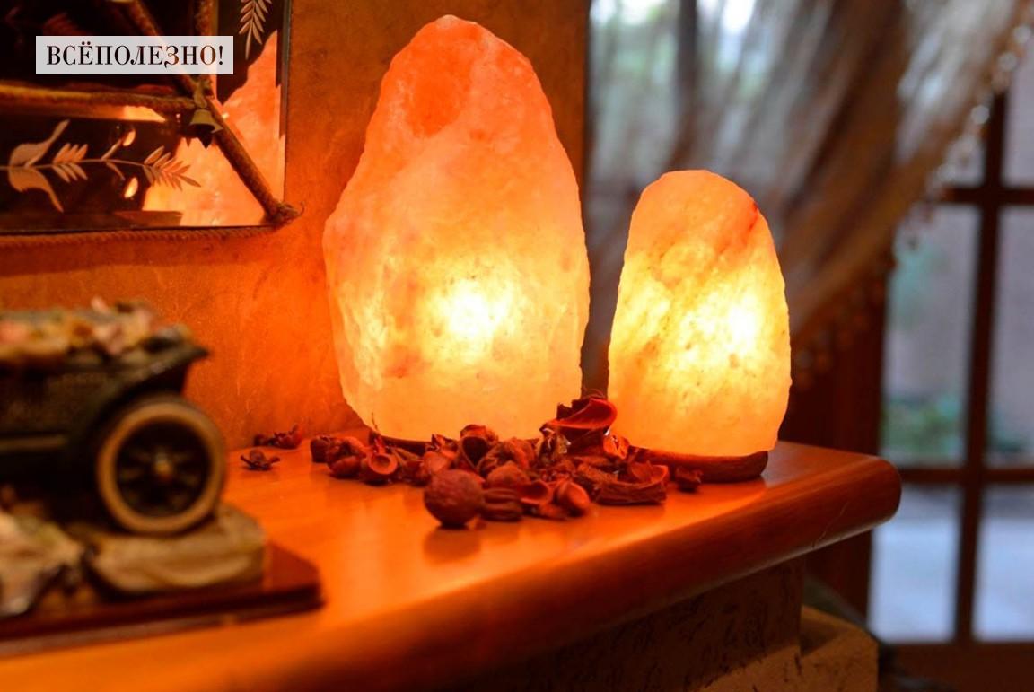 Солевая лампа: польза или вред