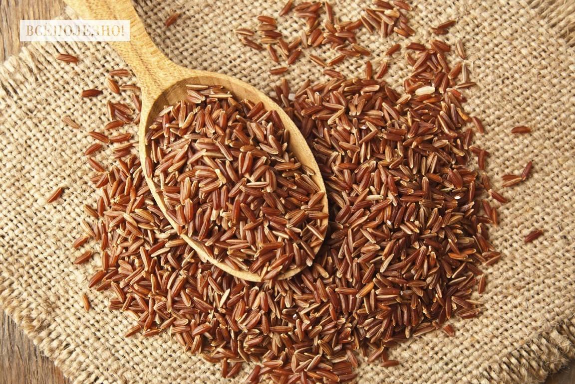 Чем полезен красный рис рубин