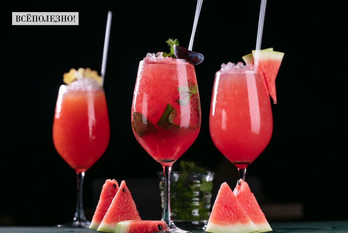 Чем полезен сок арбуза