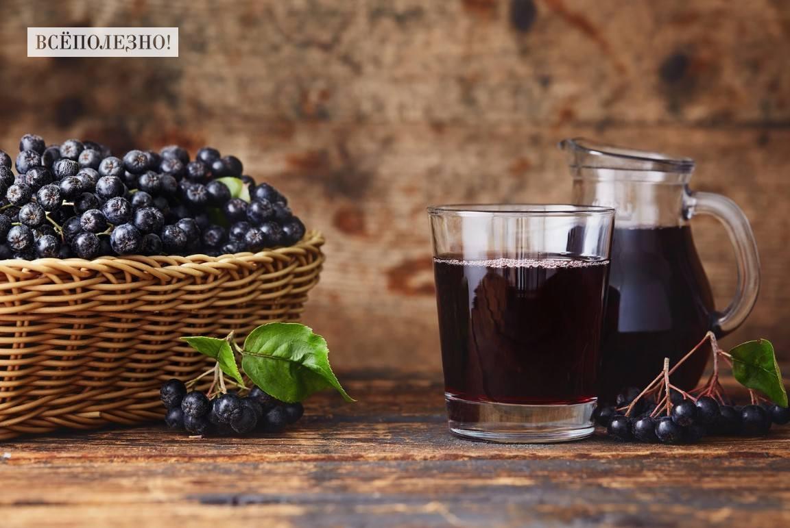 Чем полезен компот из черноплодной рябины