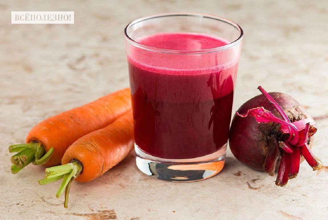 Чем полезен свекольно-морковный сок для здоровья