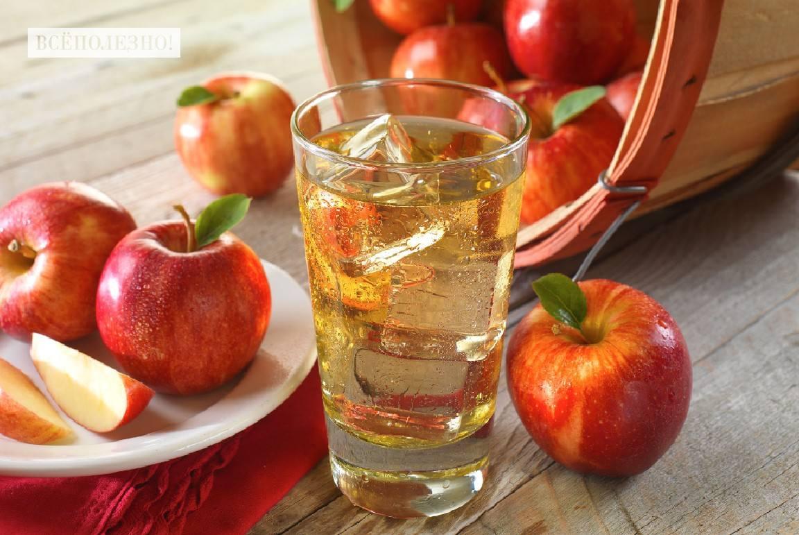 Чем полезен компот из яблок