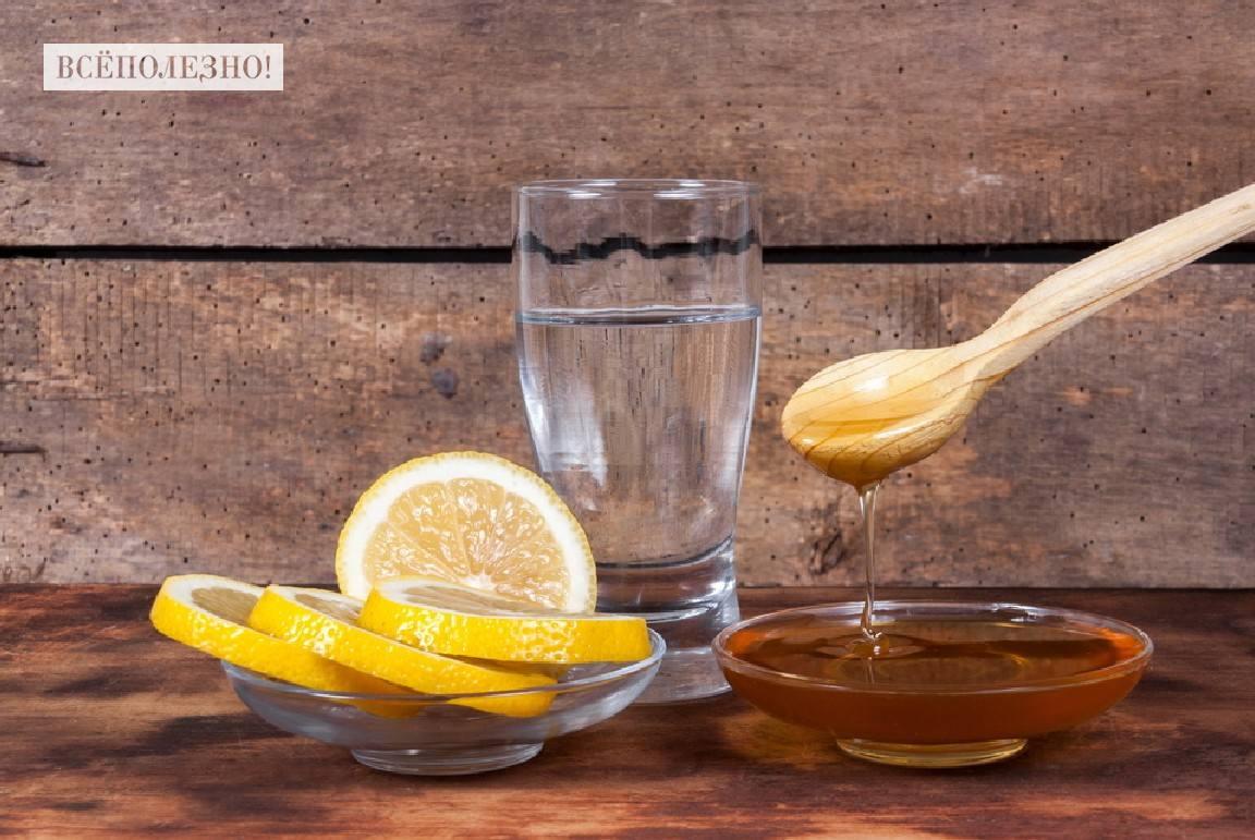 Чем полезна вода с лимоном и медом натощак