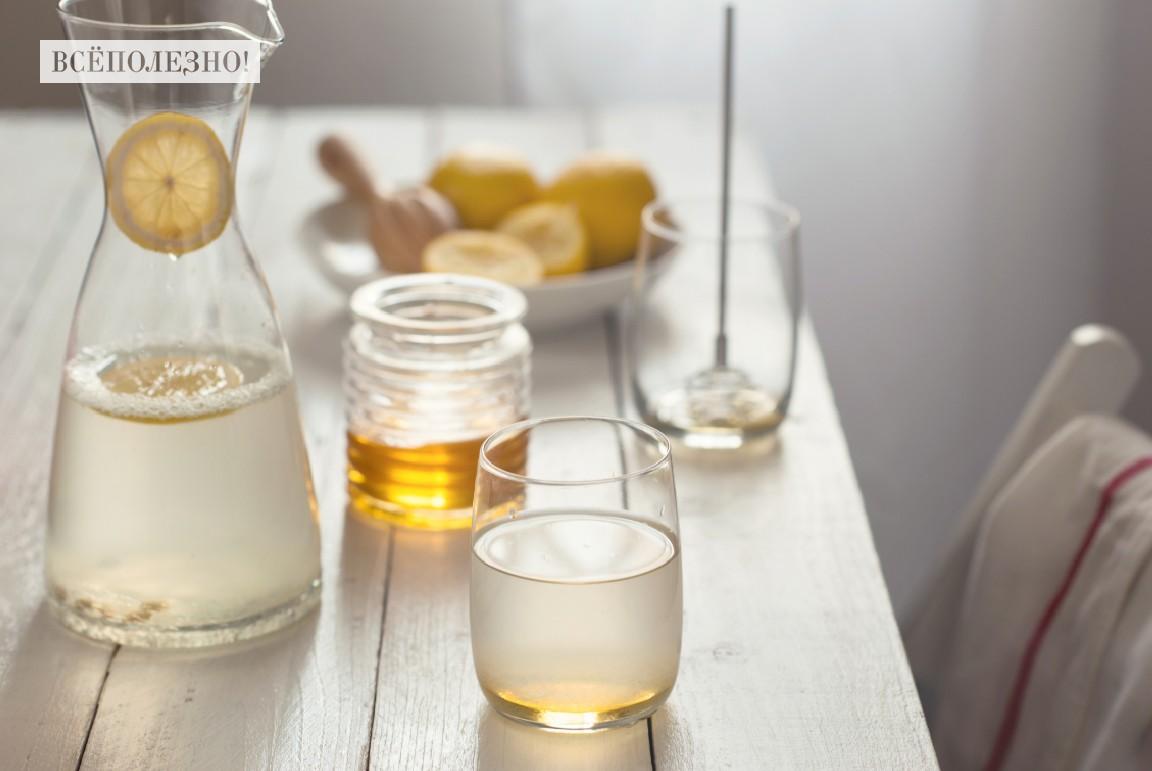 Чем полезна вода с медом