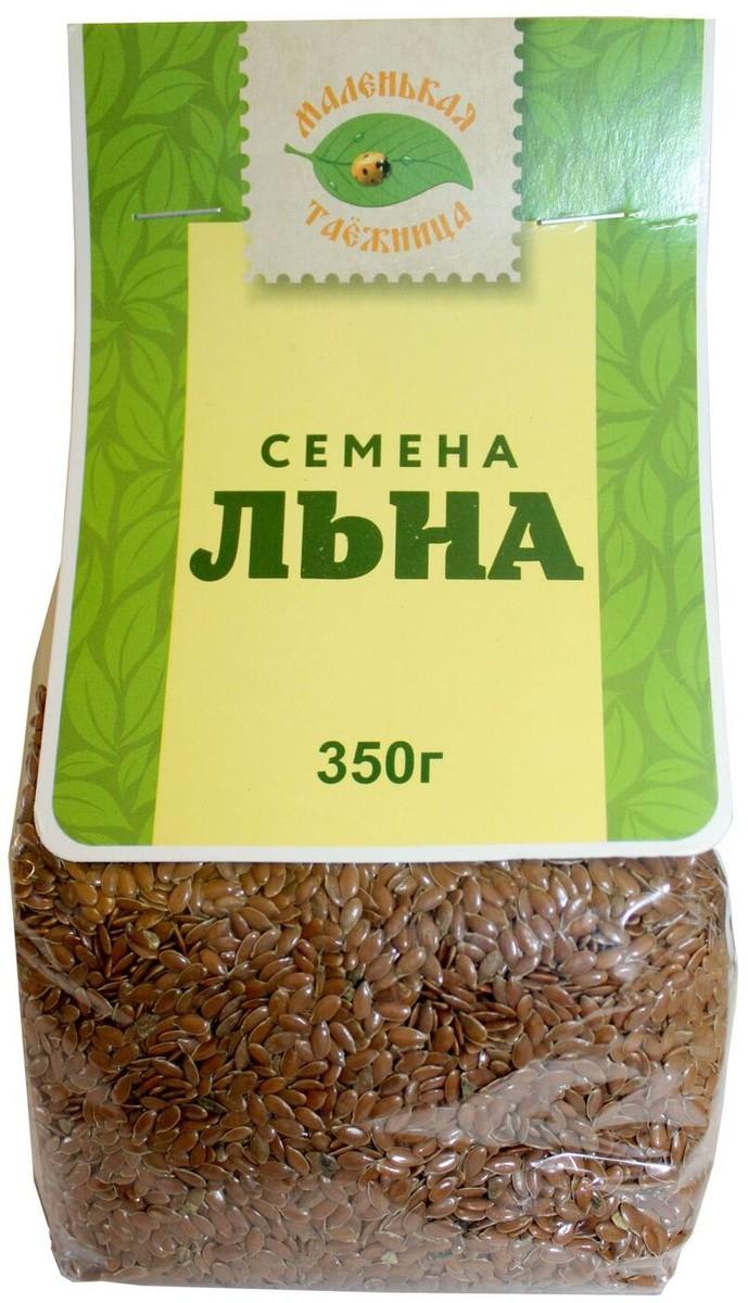 Маленькая Таежница Семена льна (коричневого), 2шт в упаковке — купить в интернет-магазине OZON с быстрой доставкой